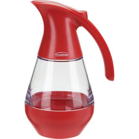 Trudeau Maison Syrup Dispenser 19oz-Red
