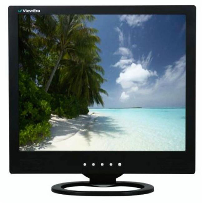 ViewEra V191HV-B 19 in. LCD Monitor Black With VGA, Composite RCA Video, S-Video And Speakers