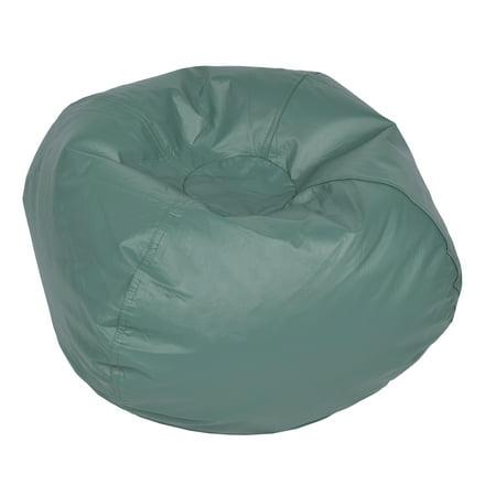 Prime Acessentials Medium Vinyl Bean Bag Chair Multiple Colors Ibusinesslaw Wood Chair Design Ideas Ibusinesslaworg