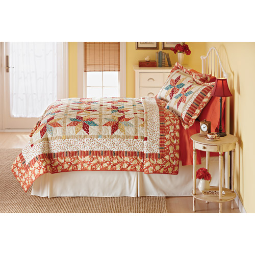 Better Homes and Gardens Eight-Pointed Star Quilt