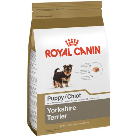 royal canin breed health nutrition yorkshire terrior small breed puppy dry dog food 2 5 lb. Black Bedroom Furniture Sets. Home Design Ideas