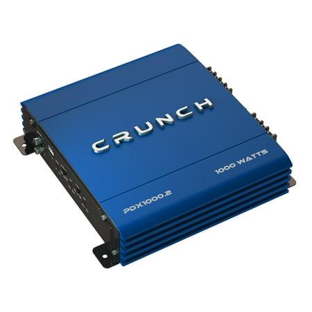 Blue Combo Amplifier (Crunch PowerDriveX 1000 Watt 2 Channel Exclusive Blue A/B Car Stereo)