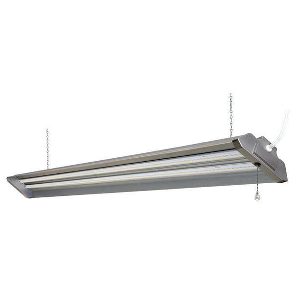Hyper Tough 4 Ft Led Shop Light 5000 Lm Walmart Com Walmart Com