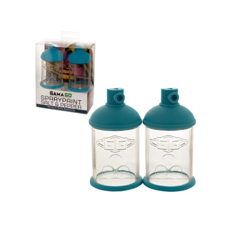 GAMA GO Spraycan Salt & Pepper Shakers