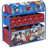 Disney Mickey Mouse 4-Piece Toddler Playroom Set by Delta Children - Includes Table & 2 Chair Set and Multi-Bin Toy Organizer