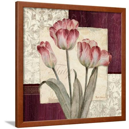 - Trio Sonata III Framed Print Wall Art By Pamela Gladding