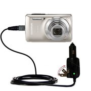 Intelligent Dual Purpose DC Vehicle and AC Home Wall Charger suitable for the Olympus Stylus-7030 Digital Camera - Two critical functions, one unique