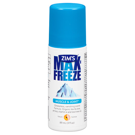 Max-Freeze Maximum Muscle & Joint Pain Relief Roll-On Formula 3.0 fl oz(pack of 12)