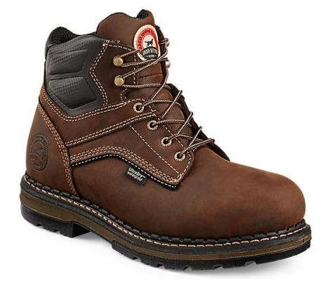 Red Wing Irish Setter Ramsey 83600 Boot, 6 Inch, Aluminum Toe, Waterproof, EH Sole, Brown