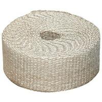 Heatshield Products 325001 Off White Inferno Wrap 1 Wide x 25' Header Insulating Heat Wrap