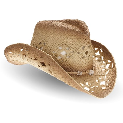 e7ab5921f8933 Women's Straw Cowboy Hat - Walmart.com