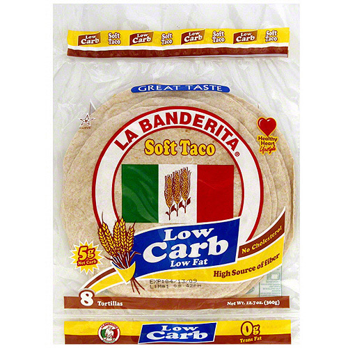 La Banderita Low Carb Low Fat Soft Taco Walmart Com