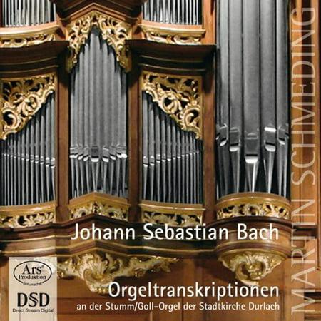 Liszt / Schaab / Bach, J.S / Schmeding - Arrangements Organ [SACD]