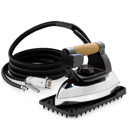 Reliable 2200IR 240V 3.9 Lb. Commercial Ironing Head with 86-3/8 Inch Cord and S