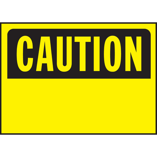 Hy-Ko Caution Sign (Set of 5)