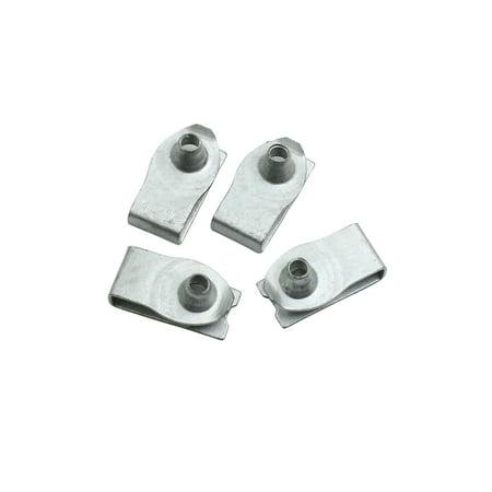 4pcs Metal Screw Fastener Automotive Bumper Fender Trim Panel Fixed Rivets Clips - image 3 de 3