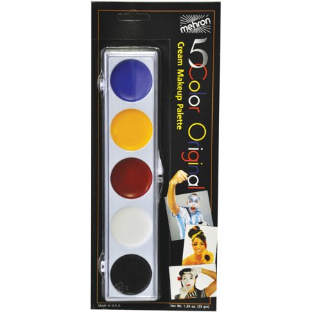 Color Makeup Palette Adult Halloween Accessory