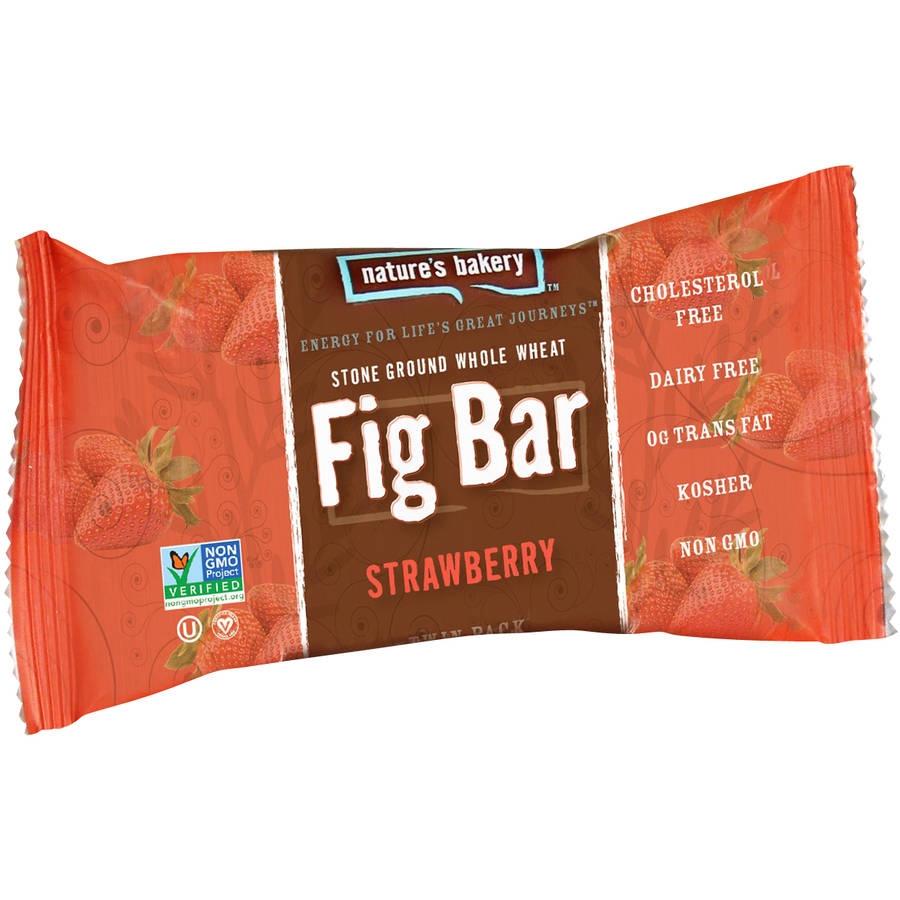 Nature's Bakery Strawberry Fig Bars, 2 oz, (Pack of 6)