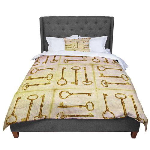 East Urban Home Marianna Tankelevich Secret Keys Comforter