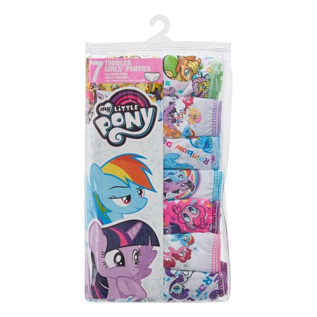 Best My Little Pony Underwear Panties, 7-Pack (Toddler Girls) deal