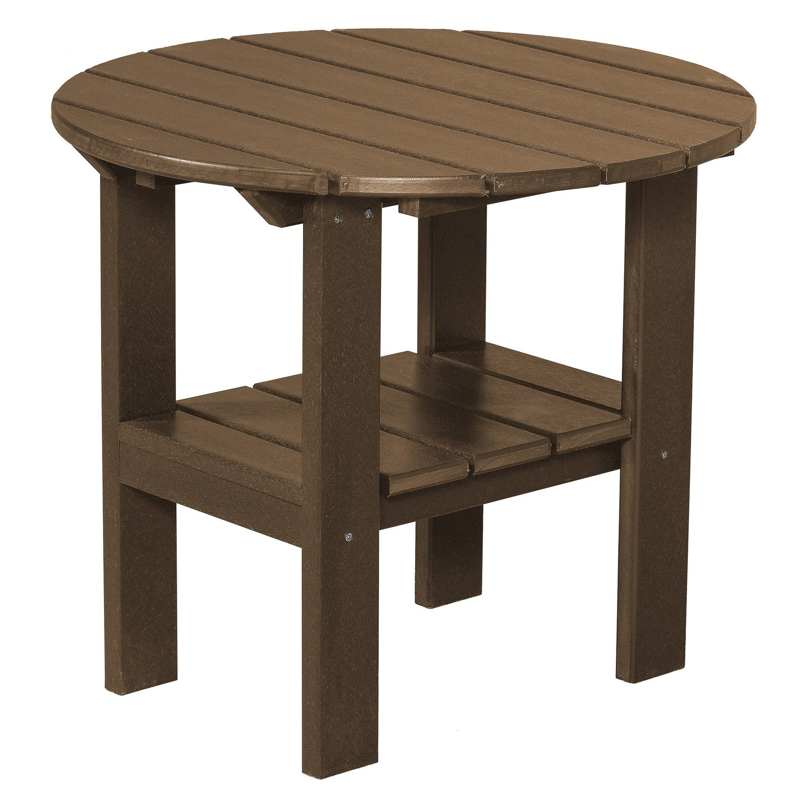 Little Cottage Classic Round Adirondack Side Table