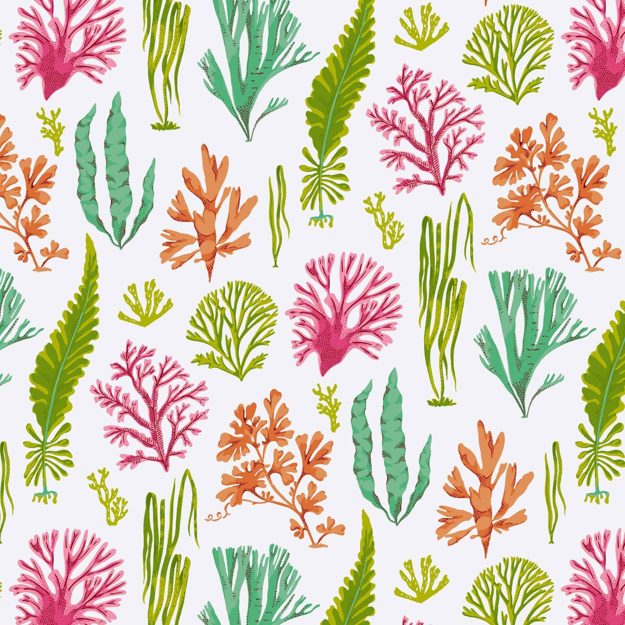 "Waverly Inspirations Cotton Duck 45"" Mod Shell Hot Pink Fabric, per Yard"