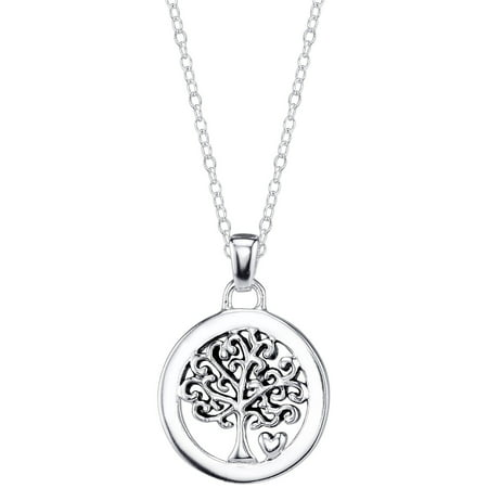 Sterling Silver Family Is Everything Tree -