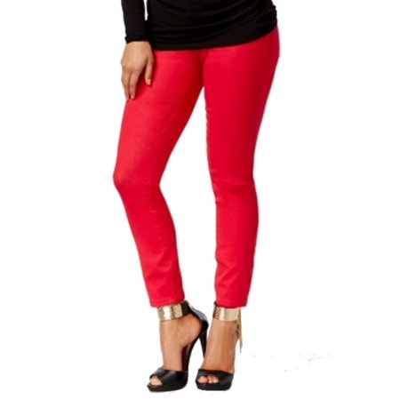 e229b86b82fea Thalia Sodi - Thalia Sodi NEW Red Crimson Women's Size 4X26 Slim ...