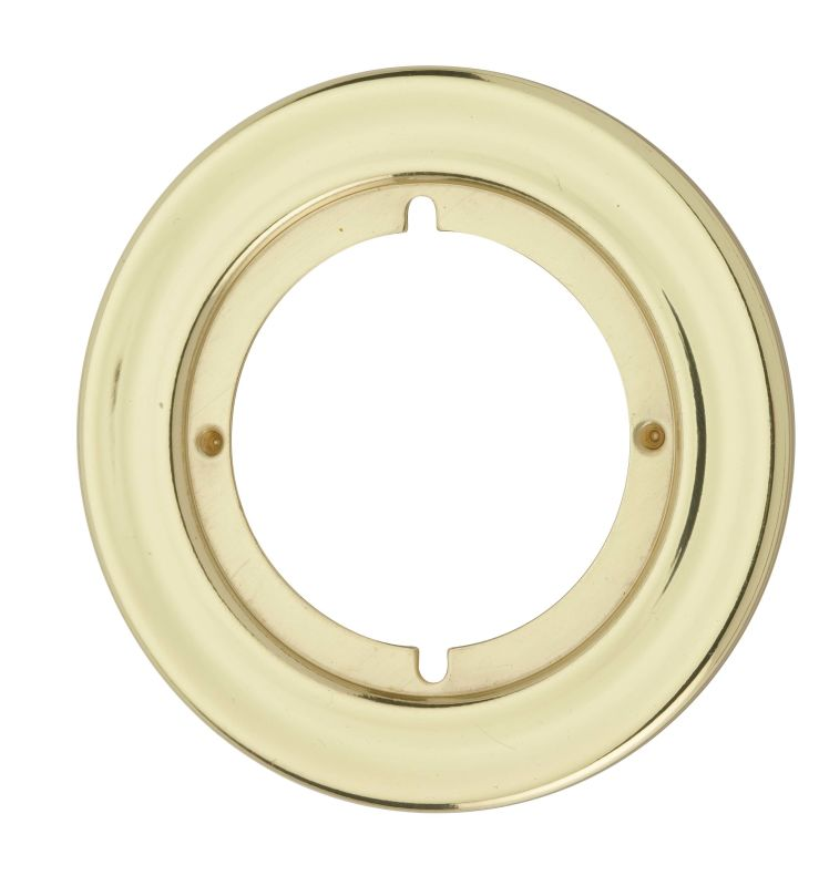 "KWIKSET ROSETTE TRIM 3-13/16"" DIAMETER DULL CHROME per 3 Each"
