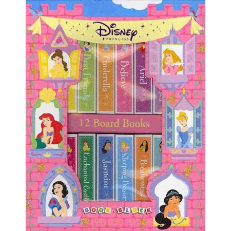 Book Block: Disney Princess (Board Books Blocks)