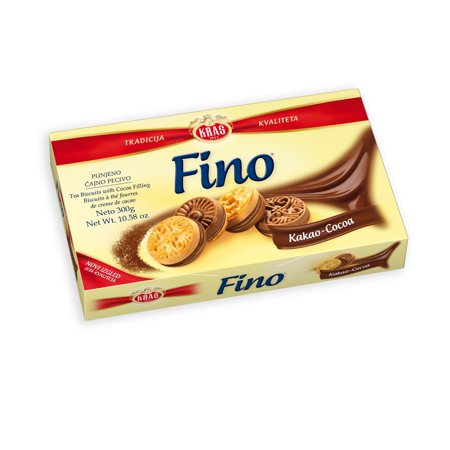 Fino Kakao (COCOA), Filled Tea Biscuit, 300g