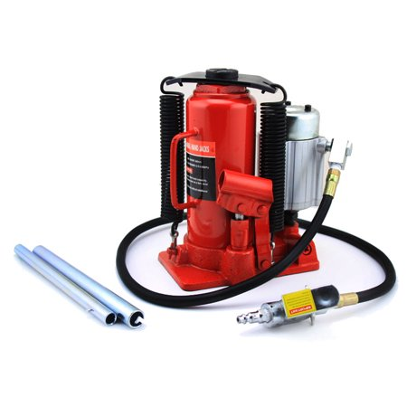 12Ton Portable Air-Operated Hydraulic Bottle Jack - Air Jack