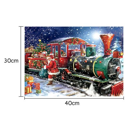 iLH Mallroom 5D Halloween Christmas Train Diamond Painting Embroidery DIY Home Decoration](Diy Halloween Decoration)