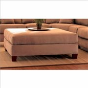 KlaussnerFurniture 012013121481 Klaussner Canyon Ottoman, Straw