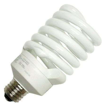 - TCP 4894265K Single 42 Watt Frosted T4 Medium (E26) Compact Fluorescent Bulb - 6500K