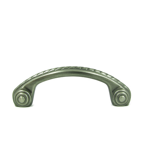 Stone Mill Hardware Rope 3'' Center Arch Pull
