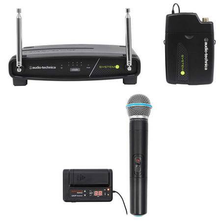 Audio Technica ATW-901/H92 System 9 VHF Wireless Headset Microphone + Free Mic