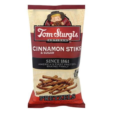Tom Sturgis Cinnamon Sugar Sticks Pretzels 9 oz. Bag (3 Bags)