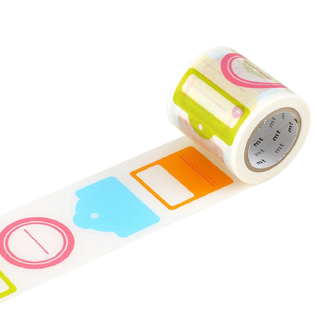 mt EX Series Washi Paper Masking Tape [genuine MT Kamoi Kakoshi / produced in Japan]: 2 in. x 33 ft. (Tag)