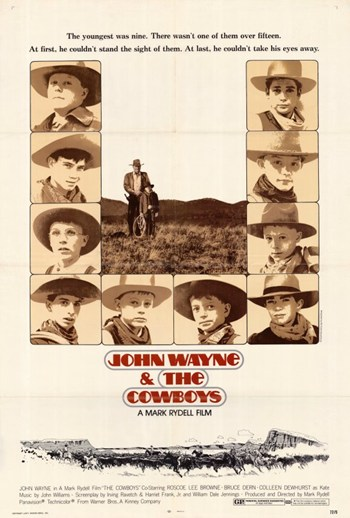 Cowboys Movie Poster (11 x 17) by Pop Culture Graphics