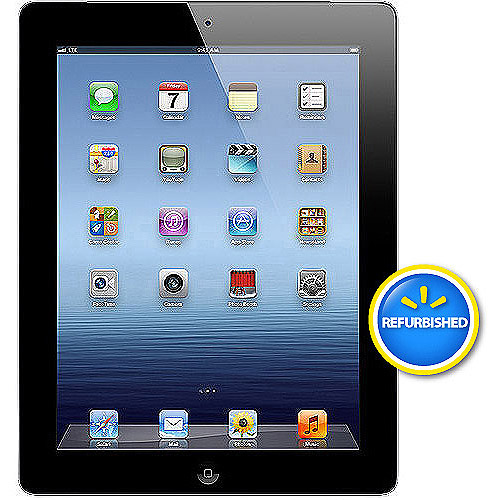 Apple iPad 3 64GB Wi-Fi + 4G LTE Verizon, Black (Refurbished)