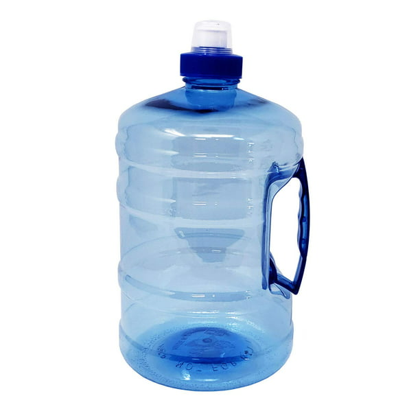 Water Bottle Jug With Handle Half Gallon 75 Oz Bpa Free Food Grade Plastic Walmart Com Walmart Com