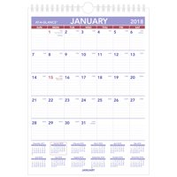 product image 2018 at a glance mini monthly wall calendar 12 months january start