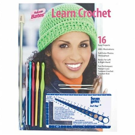 Susan Bates Learn Crochet Kit Walmartcom