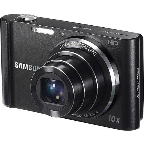 Samsung Black ST201 Digital Camera with 16.1 Megapixels and 10x Optical Zoom