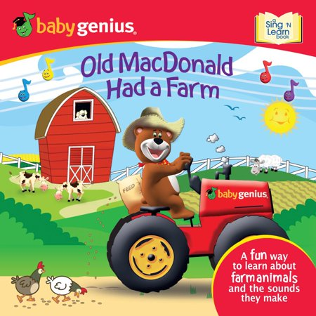 macdonald   farm  sing  learn book walmartcom