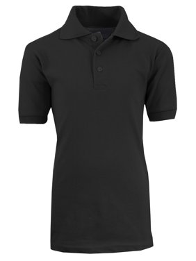 GBH Boys School Uniform Short Sleeve Pique Polo Shirt (Little Boys & Big Boys)