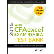 Wiley Cpaexcel Exam Review 2016 Test Bank : Financial Accounting and Reporting