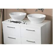 Iotti by Nameeks Aurora 37'' Double Bathroom Vanity Top