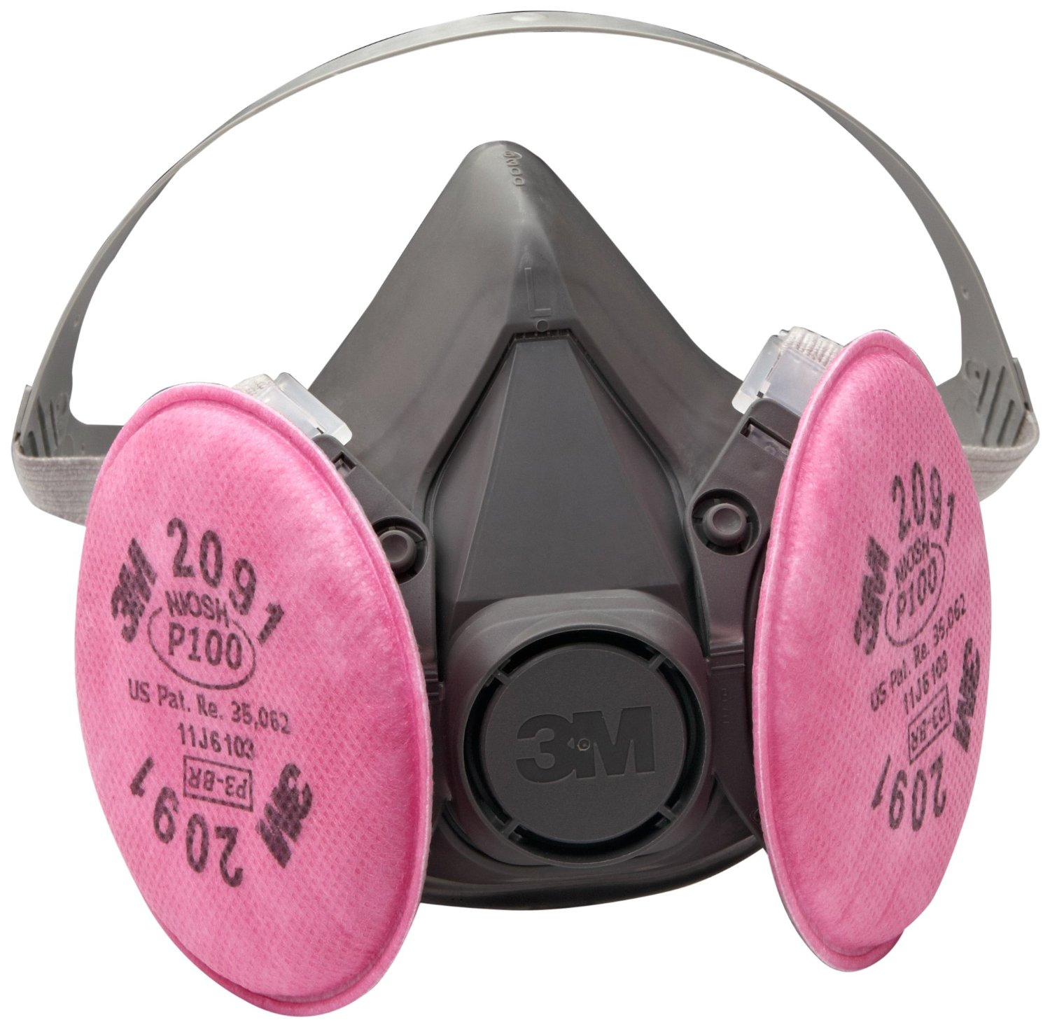 3M 6391 P100 Reusable Respirator Gas Mask Large by 3M